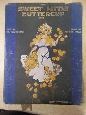 Sweet Little Buttercup Herman Paley Song book Sheet Music 1916 *FREE SHIPPING*
