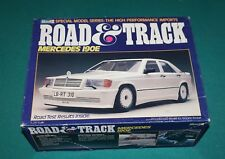Road & Track Mercedes 190E Revell 1/24 Complete & Unstarted But Bumpers Glued On