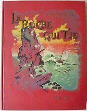 Pierre MAËL [SCOTT] - La roche qui tue (1929 - Cartonnage à décor)