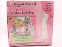 BRAND NEW! The Story of the Three Little Pigs by Lilly Barnes Read and dress up