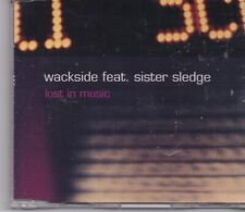 Wackside Feat Sister Sledge-Lost In Music cd maxi single 7 tracks