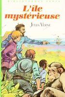 L'île mystérieuse // Bibliothèque Verte // Jules VERNE