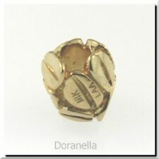 Authentic Trollbeads 18k Gold Mocha Gold 1 Retired