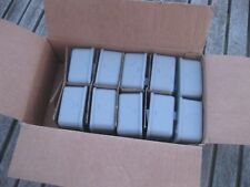 10 x 13A Metal Clad Fused Switched Spur Flex Outlet Switch & Back Box FREE POST