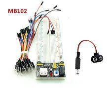 Basic Electronics Kit Power module + Breadboard + 65 jumper wires kit + DC Jack
