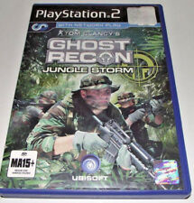 Ghost Recon Jungle Storm Tom Clancy's PS2 PAL *Complete*