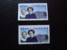 SUEDE - timbre yvert et tellier n° 2060 x2 obl (A29) stamp sweden (E)