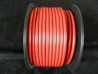 10 GAUGE WIRE PER 10  FT RED HOOK UP AWG STRANDED COPPER PRIMARY GROUND POWER