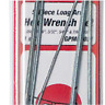 NEW! GREAT PLANES HEX WRENCH SET, 5PC LONG ARM, GPMR8021
