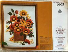 Wildwood Bouquet The Creative Circle Crewel Stitchery Kit 0603