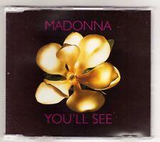 MADONNA Cd Maxi  YOU' LL SEE  3 tracks 1995 / 18