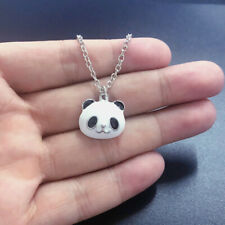 Panda Necklace Panda Bear Charm Pendant Necklace Jewelry Gift