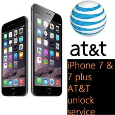 iPhone 7 7+ AT&T FACTORY UNLOCK CODE SERVICE - 100% GUARANTEE CLEAN IMEI FAST!!!