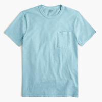 J.Crew Men Garment-dyed slub cotton crewneck T-shirt Size M #Item J1785