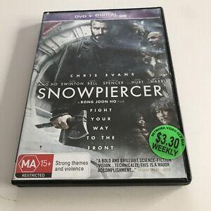 Snowpiercer (DVD, 2014) Chris Evans EX RENTAL MOVIE