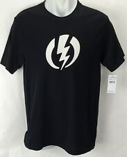 NEW Electric Standard Volt Black Mens XL Snow Skate Cotton Tee Shirt Msrp$22