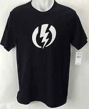 NEW Electric Standard Volt Black Mens XL Snow Skate Cotton Tee Shirt Msrp$22