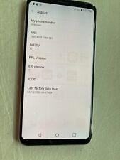 NEW SILVER VERIZON GSM UNLOCKED LG V30 VS996 64GB //PLEASE READ!! JS41