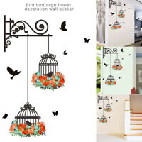 Birdcage Decorative Bedroom Living Room Wall Stickers Decal Art Mural Home