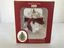New Spode Snow Flake Christmas Tree Ornament NIB