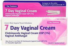 Taro 7 Day Clotrimazole Vaginal Cream, Antifungal Treatment