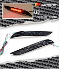 LED Lamp SMOKE Super Bright Rear Bumper REFLECTOR Light for BMW E60 E61 5-Series