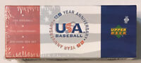 2004 Upper Deck Baseball USA Complete 200cd Factory Sealed Set with 3 Autographs