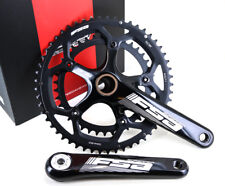 FSA Gossamer BB386 EVO Road Bike Crankset 53/39T 172.5mm 130BCD N10/11 Speed NEW