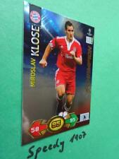 Champions League 2009 2010 Super Strikes Klose München Champion Panini Adrenalyn