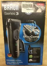 Braun Series 3 3050cc Electric Shaver for Men Cleaning Center *Solution Included