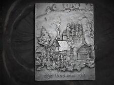 seltene Gussplatte Buderus   1731 BUDERUS 1981    250 JAHRE BUDERUS ?