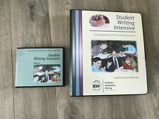 Student Writing Intensive material course binder with 4 DVD's, Group A