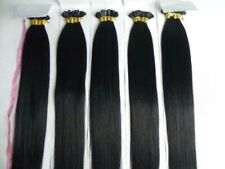 1G/S Indian Pre Bonded Nail U Tip Keratin Remy Human Hair Extensions 20-22inch