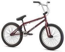 "Mongoose Legion L80 20"" Wheel Freestyler BMX Bike U-brakes Maroon"