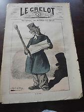 journal Le Grelot Numéro 89 du 22 /12/ 1872 ( TATAPOIL )
