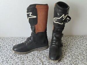 mens-Alpinestars-motorcycle boots US-12 black/brown