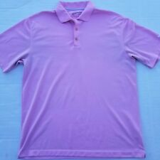 Nike Golf Mens FIT DRY XL Polo Pink
