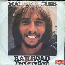 7inch MAURICE GIBB railroad GERMAN EX +PS   ( BEE GEES)