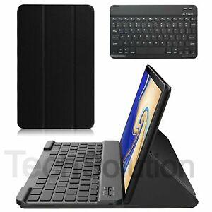Wireless Keyboard & Cover Case Samsung Galaxy Tab S4 10.5 Case T830 / T835