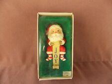Santa Joy Christmas Stocking Holder - Russ Berrie