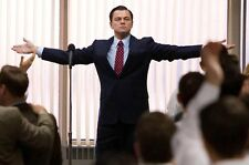 """the wolf of wall street TV  Fabric poster 36"""" x 24"""" Decor 14"""
