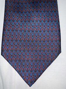 Hermès cravatta 100% seta silk lazo nektie krawatte cravate soie