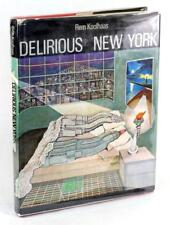 Signed Rem Koolhaas Delirious New York A Retroactive Manifesto for Manhattan