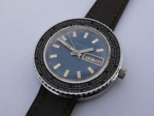 Vintage Soviet Men's Mechanical Large Watch RAKETA WORLD TIME cal.2628H DATE DAY