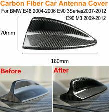 Carbon Fiber Car Antenna Trim Cover For BMW E90 3 Series 2007-2012 E90 M3 09-12