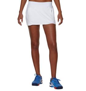 Asics Women's Padel Skort Athlete Tennis Skort Shorts - White - New