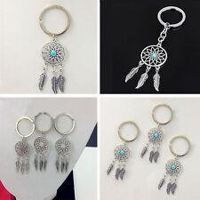 Wholesale Key Chain Key Ring Feather Tassels Dreamcatcher Charm Keyring Keychain