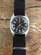 CWC W10 British Military Watch Hacking Mechanical Rare Year Issued 77 Tritium T