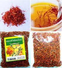 30g THAI HERB DRIED SAFFRON SAFFLOWER TEA HEALTHY DRINK NATURAL 100 %