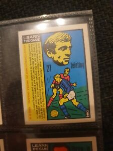 Learn the Game (Anglo Confectionary) World Cup 70 - Francis Lee Manchester City